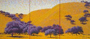 Oak Trees Triptych 4