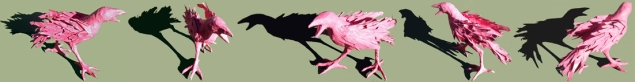Pink Crow